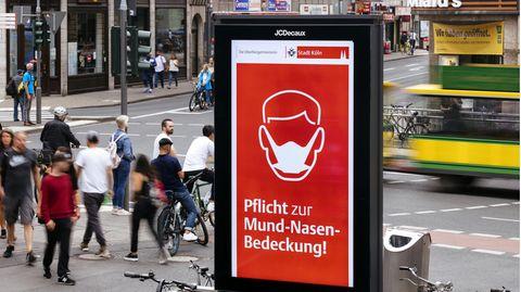Maskenpflicht Köln