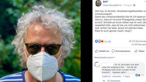 Bap-Sänger Wolfgang Niedecken