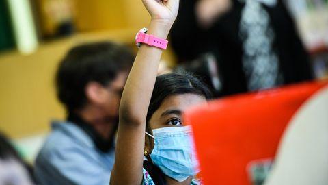 Maskenpflicht bei Schülern