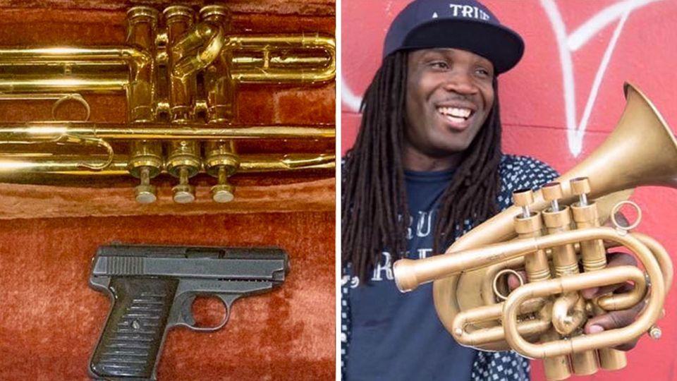 Shamarr Allen tauscht Instrumente gegen Waffen