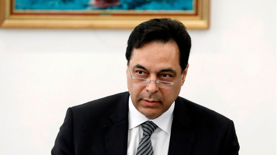 Hassan Diab, Premierminister des Libanon