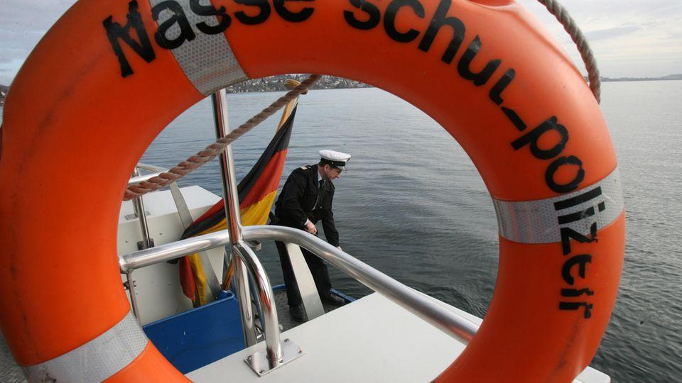 Wasserschutzpolizei auf dem Bodensee