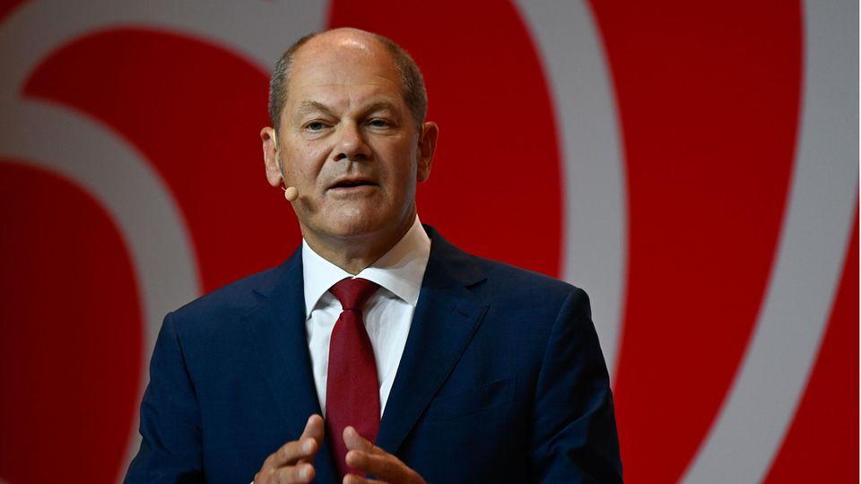 Er geht für die SPD in dasRennen um die Kanzlerschaft: Finanzminister Olaf Scholz (SPD)