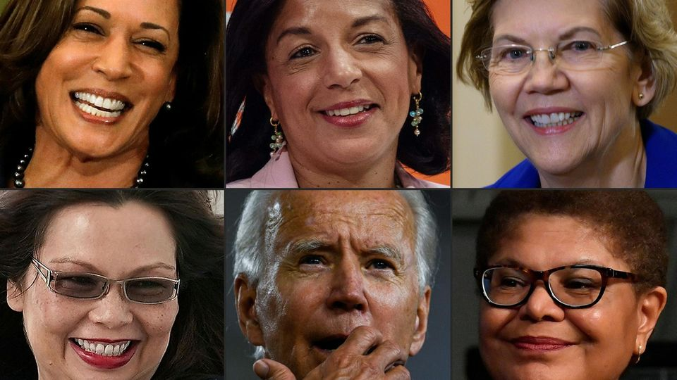 Joe Biden und fünf Frauen, die seine Vize-Präsidentin werden könnten