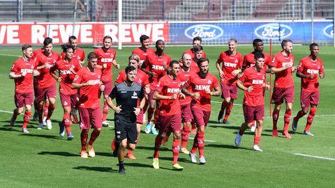 Trainingsauftakt beim 1. FC Köln