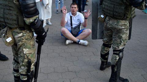 Protest in Minsk