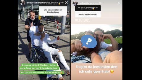 Vip News: Bachelor Sebastian Preuss teilt Foto mit neuer Frau