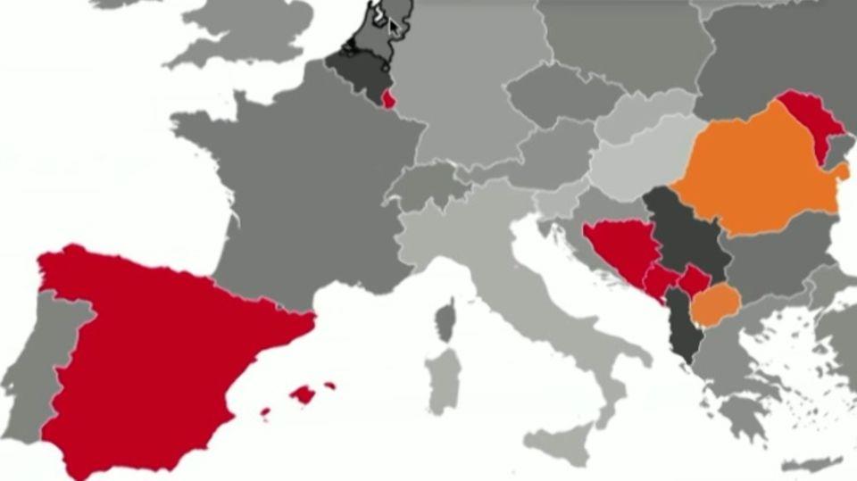 Coronavirus: Steigende Infektionszahlen in vielen Teilen Europas
