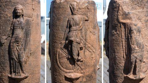 Säulenrelief