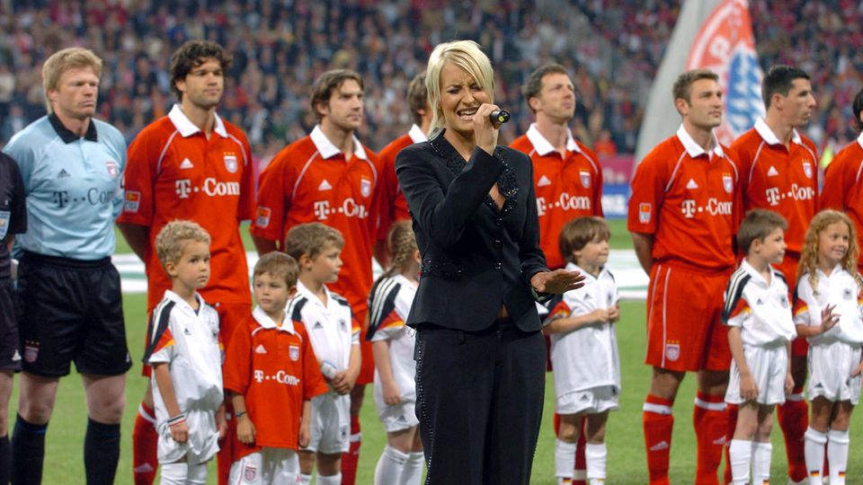 Sarah Connor in der Allianz-Arena