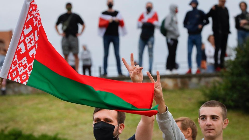 Demonstration in Belarus
