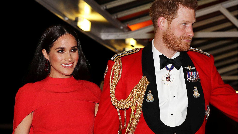 Herzogin Meghan und Prinz Harry bei einem ihrer letzten offiziellen Termine für das britische Königshaus