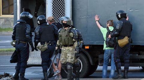 News von heute - Festnahmen Belarus