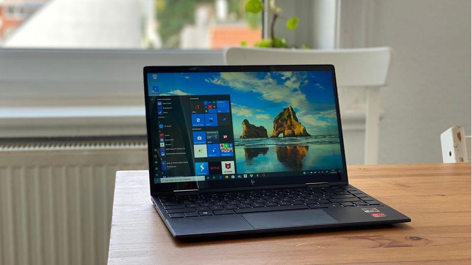 Schick, leistungsstark und günstig: Das ist das HP Envy x360 (2020)
