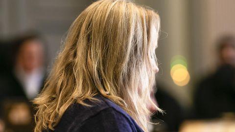 Die Kieler Staatsanwältin Maya S. im Verhandlungssaal