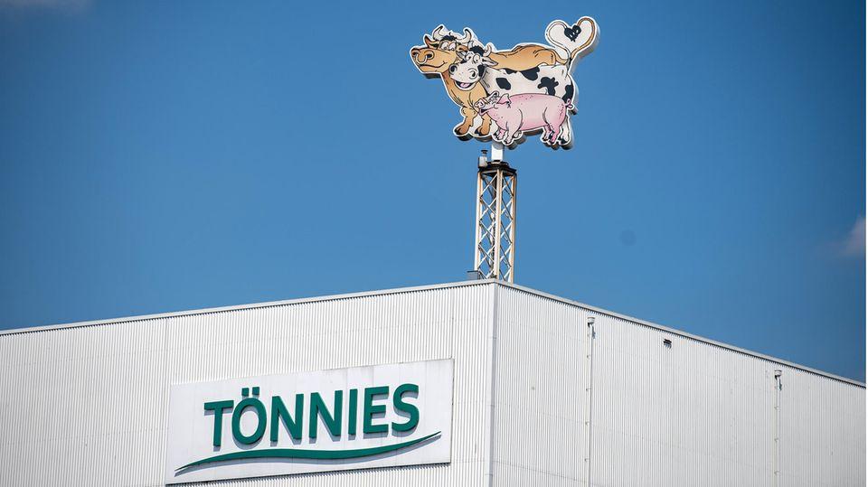 Tönnies-Werk in Rheda-Wiedenbrück