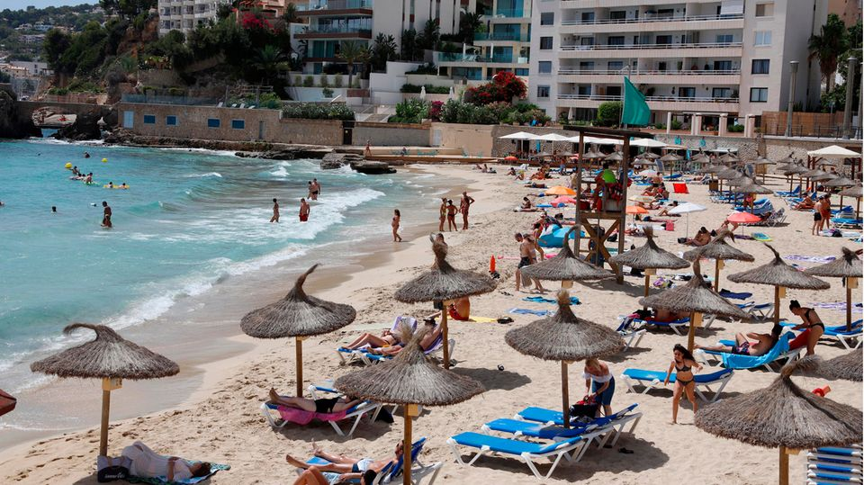 Strand Cala Major auf der Baleareninsel Mallorca