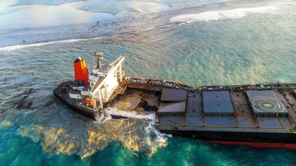News - Frachter Mauritius