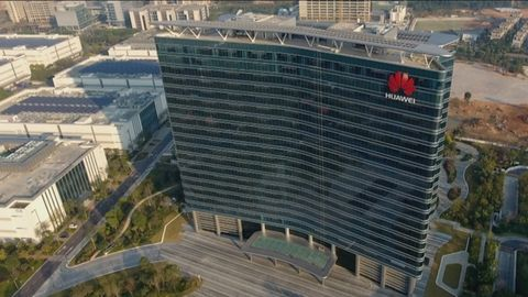 Die Huawei-Zentrale in Shenzhen