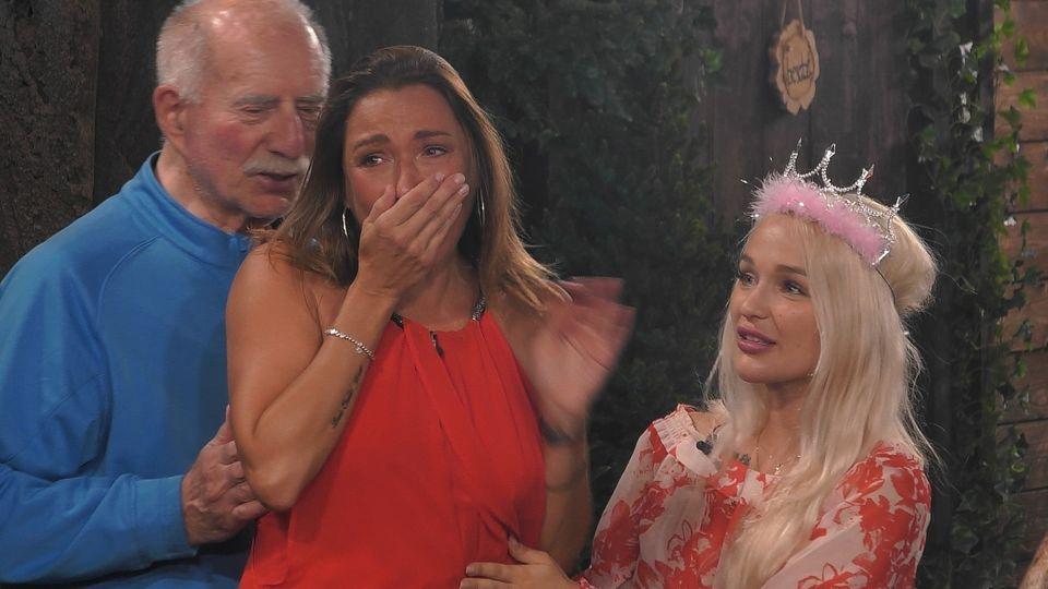 """""""Promi Big Brother"""": Werner Hansch, Simone Ballack und Emmy Russ"""