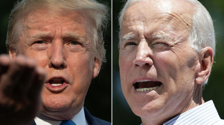 Wer wird der nächste US-Präsident? Donald Trump (l.)und Joe Biden