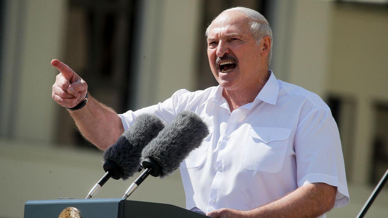 Alexander Lukaschenko versucht die Mär vom äußeren feind zu beleben, um an der Macht zu bleiben