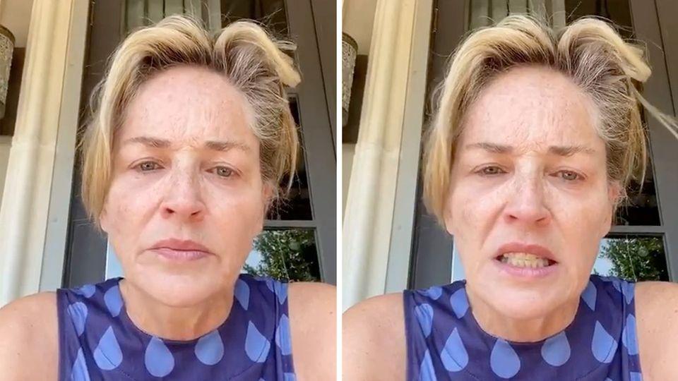 Sharon Stone: Schauspielerin bangt um das Leben ihrer Schwester.