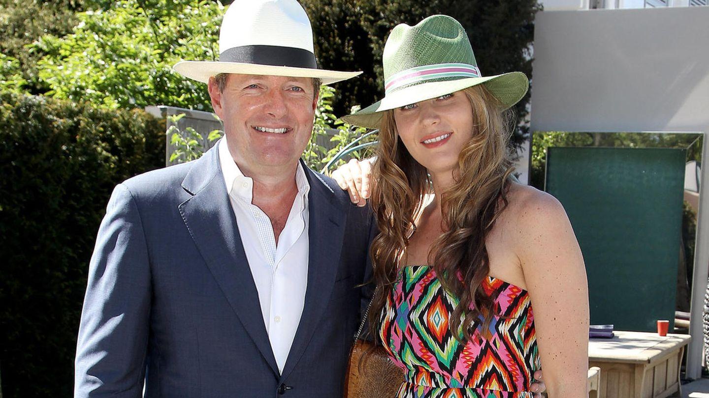 Moderator Piers Morgan und seine Frau Celia Walden