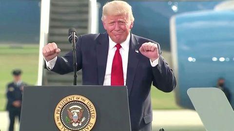 Trump attackiert Joe Biden – und lobt Despoten dieser Welt