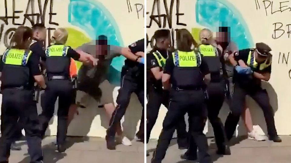 Hamburg: Polizisten nehmen einen 15-Jährigen fest – und ernten Kritik im Netz