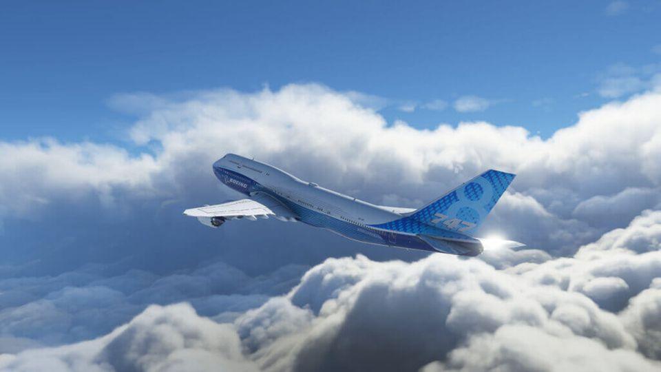 """In """"Microsoft Flight Simulator 2020"""" manövrieren Spieler kleine und große Flugzeuge durch Echtzeit-Bedingungen"""