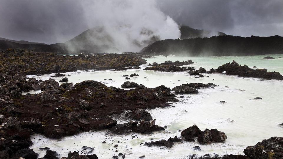 Reykjanes in Island