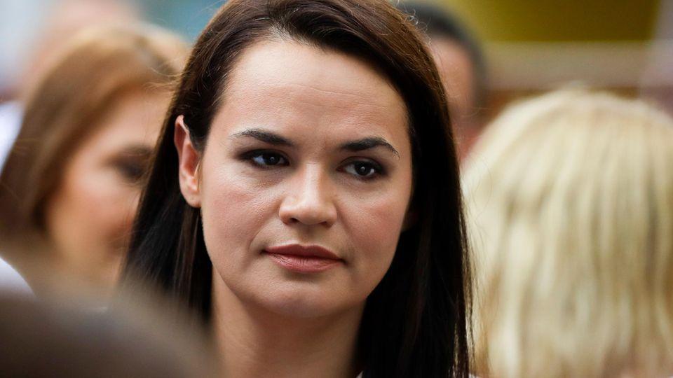 Tichanowskaja: EU darf Ergebnis der Wahl in Belarus nicht anerkennen