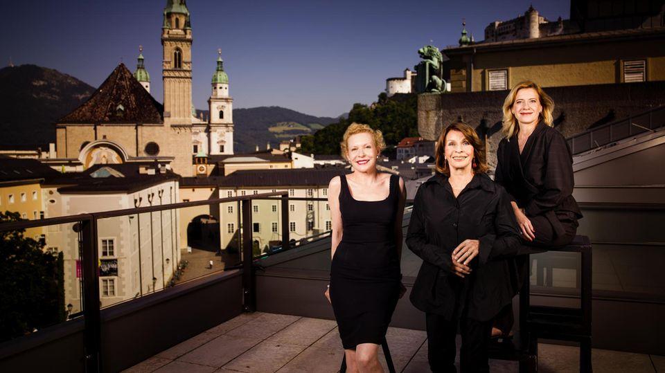 Sunnyi Melles, Senta Berger und Caroline Peters