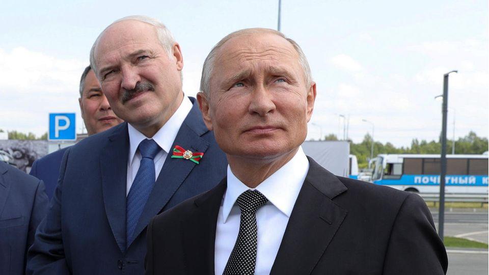 Wladimir Putin und Alexander Lukaschenko verbindet eine politische Hassliebe
