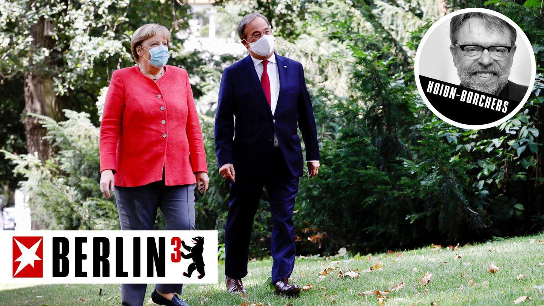 BERLIN³: Schweigen und genießen: Wie Merkel in der Nachfolgefrage lobt und tadelt – und doch nichts sagt