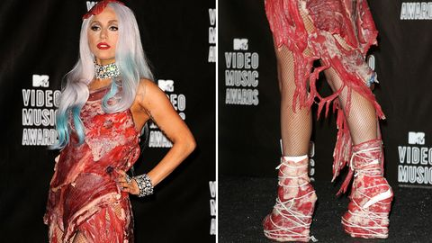 Lady Gaga im September 2010 bei den MTV Video Music Awards