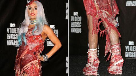 Lady Gaga im September 2010 bei den MTVVideo Music Awards
