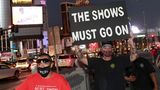 Las Vegas, USA. Show-Betreiber fordern, ihr Programm wieder aufnehmen zu können. Obwohl die Hotel-Casinos in Las Vegas schon im Juni wiedereröffnet werden durften, sind die meisten Live-Unterhaltungsstätten bislang geschlossen geblieben, um die Corona-Pandemie einzudämmen.