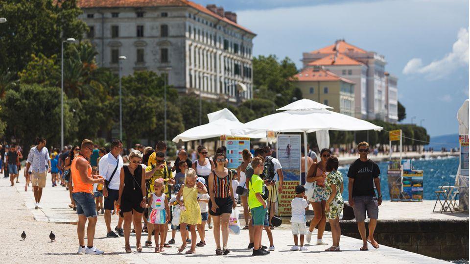 Corona-News - Küstenregionen Kroatiens sind jetzt Risikogebiet