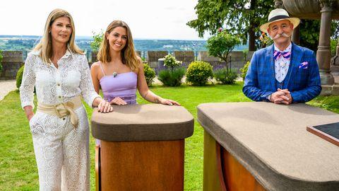 Bares für Rares: Vanessa Mai mit Schwiegermutter und Horst Lichter