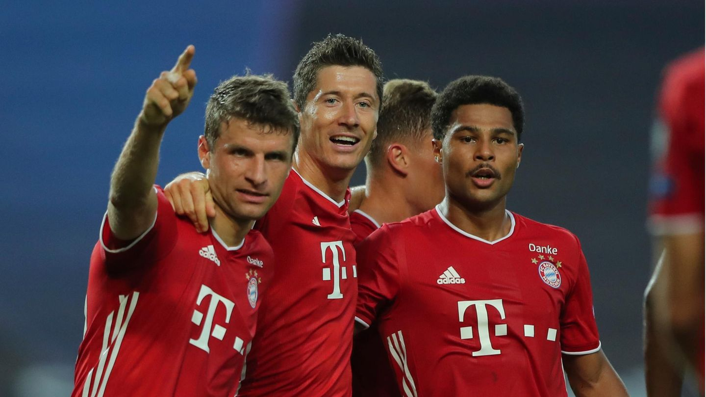 Champions League Finale live: Thomas Müller, Robert Lewandowski und Serge Gnabry