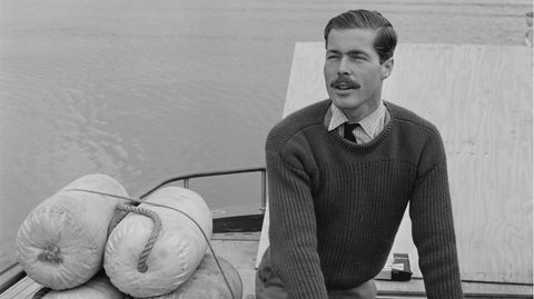 Lord Lucan an Bord seines Motorbootes