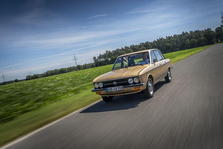 Den VW K70 gab es mit 75, 90 und später dann mit 100 PS