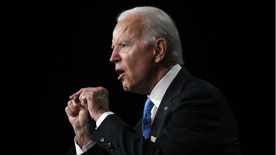 Parteitag US-Demokraten: Joe Bidens Kernaussagen