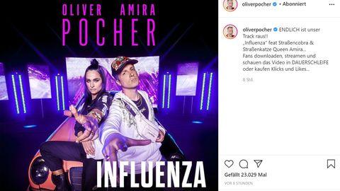 """Amira und Oliver Pocher haben den Song """"Influenza"""" veröffentlicht"""