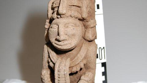 Eine Inka-Statue