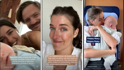 Marie Nasemann berichtet auf Instagram ganz offen von ihrem Mama-Alltag