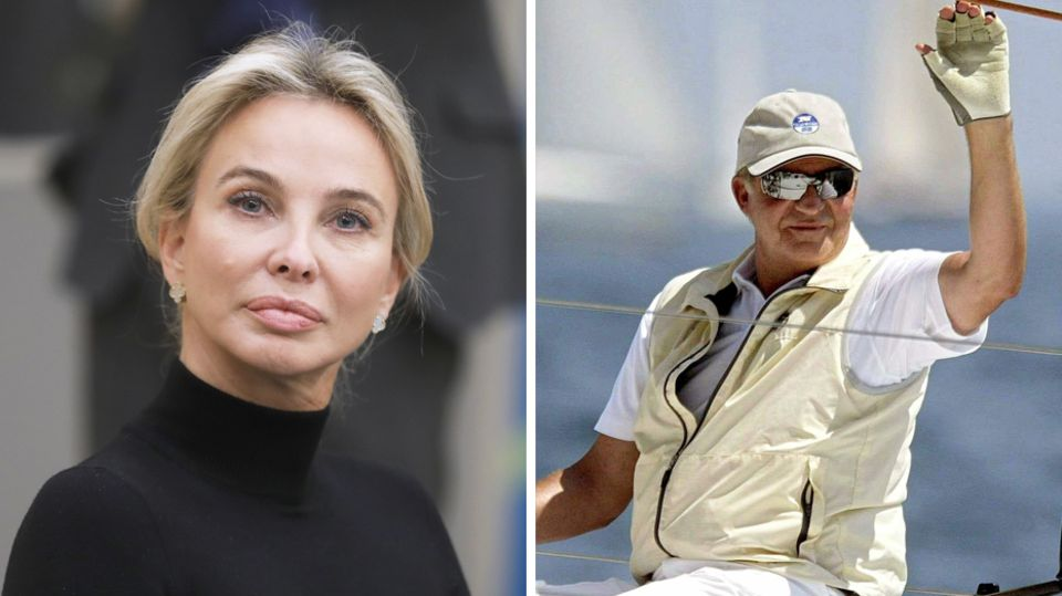 Corinna zuSayn-Wittgenstein, geborene Larsen, und Juan Carlos führten von 2004 bis 2009 eine Beziehung