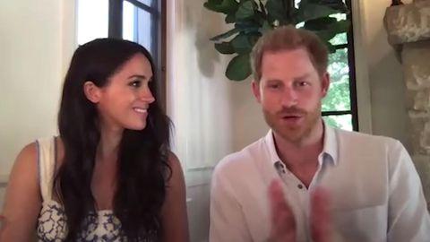 Süßer Moment beim Videocall zwischen Harry und Meghan
